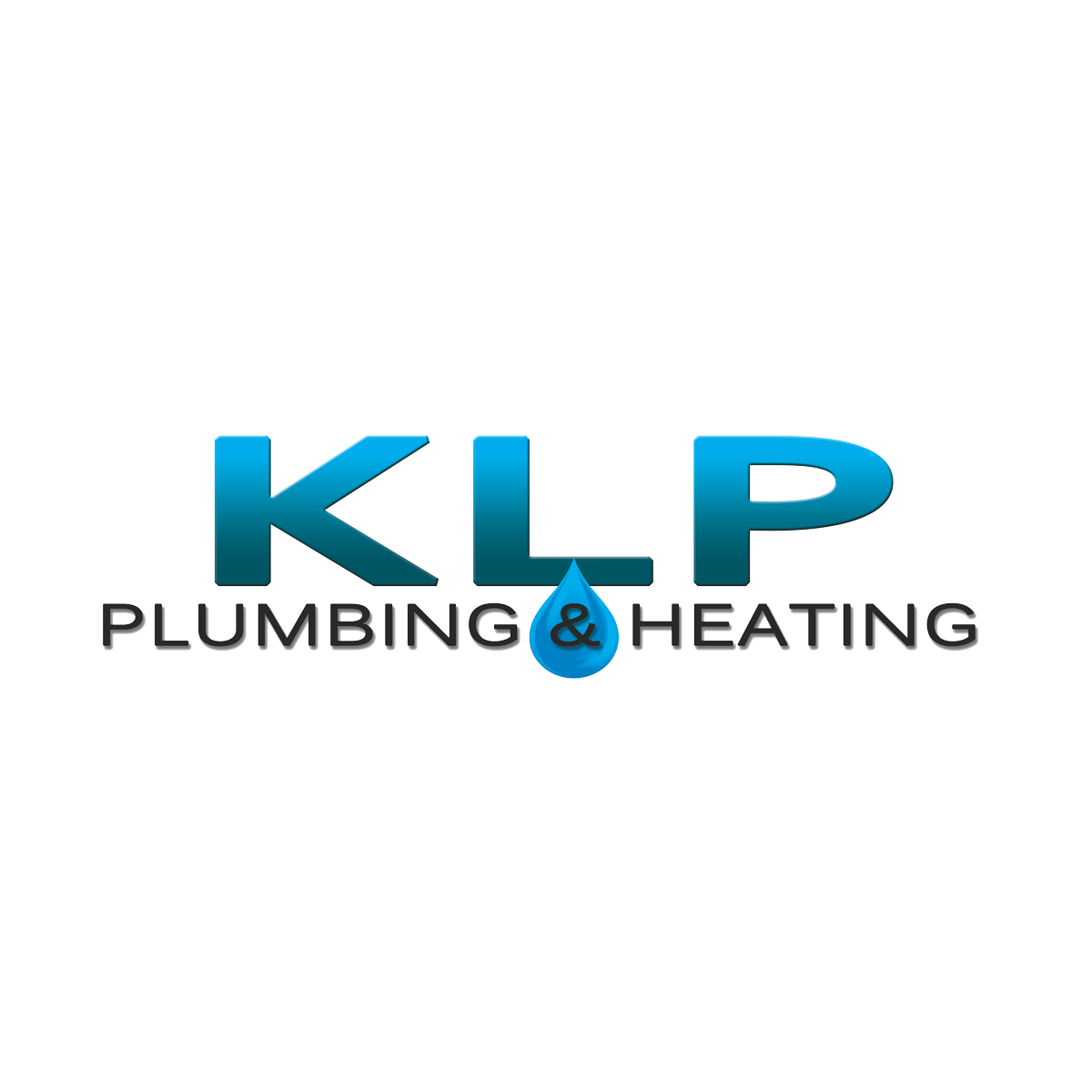 klp plumbing and heating logo square