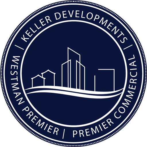 general contactors logo Keller Developments Premier commercial builders westman premier homes