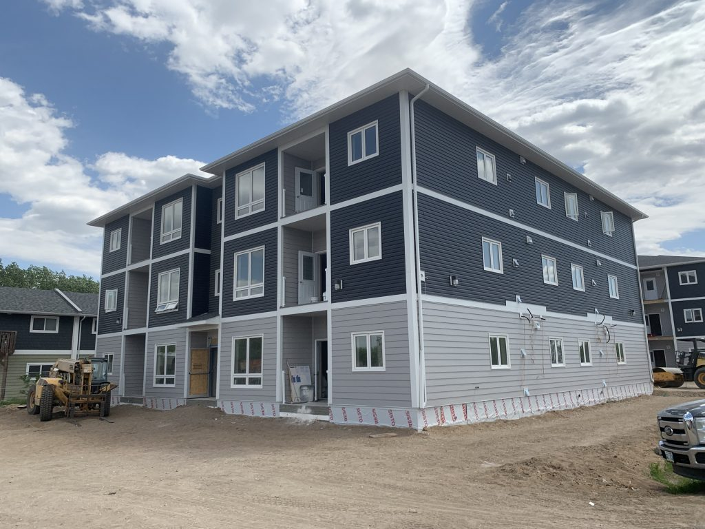 Braecrest drive apartments developed by Keller Developments general contractors