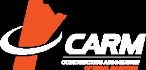 CARM logo white