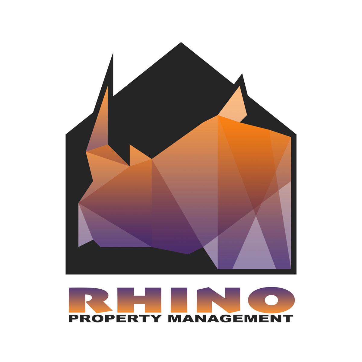 rhino property management logo square